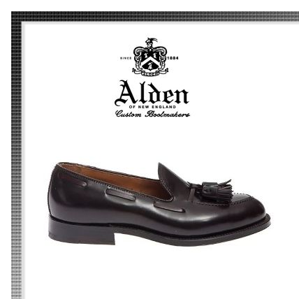 Loafers Tassel Plain Leather Loafers & Slip-ons