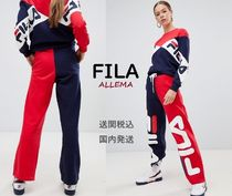FILA Casual Style Sweat Street Style Long Halloween Sweatpants