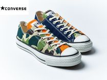 CONVERSE ALL STAR Camouflage Street Style Sneakers