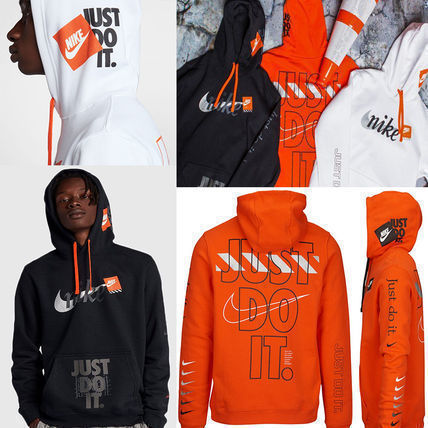 Nike Hoodies Street Style Collaboration Hoodies