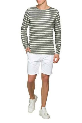 Scotch & Soda Sweatshirts Crew Neck Pullovers Stripes Street Style Long Sleeves Cotton 2