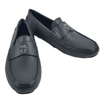 DIOR HOMME Street Style Leather Loafers & Slip-ons