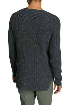 Scotch & Soda Knits & Sweaters Crew Neck Pullovers Wool Street Style Long Sleeves Plain 3