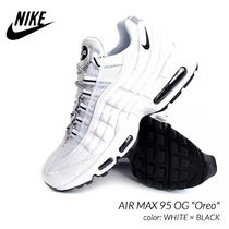 Nike AIR MAX 95 Plain Leather Sneakers