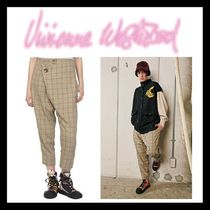 Vivienne Westwood Other Check Patterns Casual Style Cotton Long