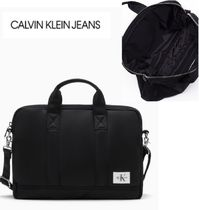Calvin Klein Nylon A4 2WAY Plain Business & Briefcases