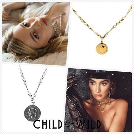 Casual Style Unisex Coin Street Style Chain