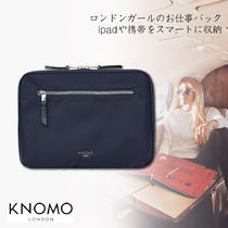 KNOMO Nylon Bag in Bag Plain Office Style Clutches