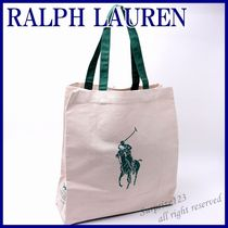 Ralph Lauren Canvas Totes