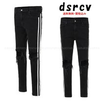 dsrcv Stripes Denim Street Style Plain Jeans & Denim