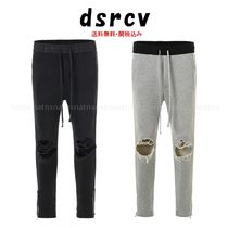dsrcv Tapered Pants Street Style Plain Cotton Tapered Pants