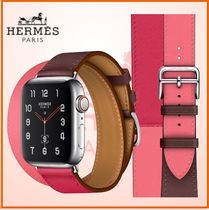 HERMES Collaboration Leather Elegant Style Watches