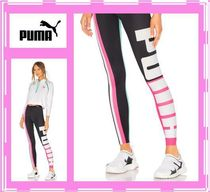 PUMA Street Style Plain Leggings Pants