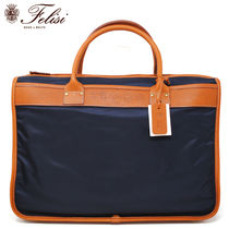 Felisi A4 Plain Leather Business & Briefcases