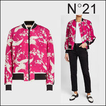 N21 numero ventuno Flower Patterns Casual Style Long Jackets