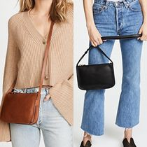 Ron Herman Casual Style Plain Leather Shoulder Bags