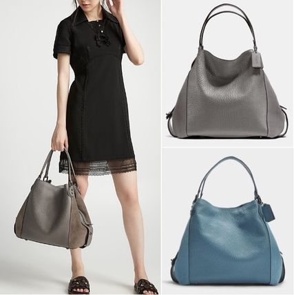 ... Coach Shoulder Bags Street Style Plain Leather Elegant Style Shoulder  Bags ... 958c387ce384b