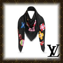 Louis Vuitton MONOGRAM Monogram Silk Fringes Accessories