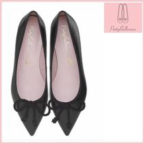 Pretty Ballerinas Plain Leather Ballet Shoes