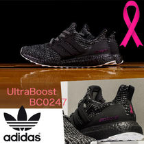 adidas ULTRA BOOST Blended Fabrics Street Style Bi-color Plain
