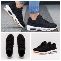 Nike AIR MAX 95 Round Toe Casual Style Unisex Street Style Low-Top Sneakers