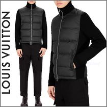 Louis Vuitton Short Blended Fabrics Street Style Plain Jackets