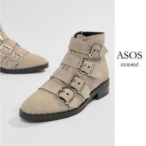 ASOS Casual Style Blended Fabrics Street Style Leather