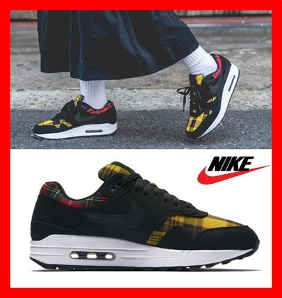 Nike Air Max 1 2018 19aw Casual Style Street Style Low Top Sneakers
