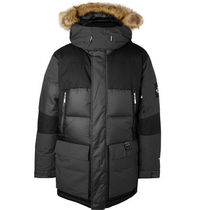 THE NORTH FACE Blended Fabrics Street Style Long Parkas