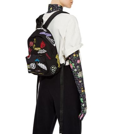 Casual Style Unisex Street Style 2WAY Backpacks