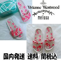 Vivienne Westwood Leopard Patterns Collaboration PVC Clothing Slippers