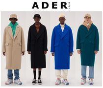ADERERROR Wool Plain Long Oversized Duffle Coats