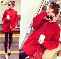 Casual Style Street Style Long Sleeves Plain Long