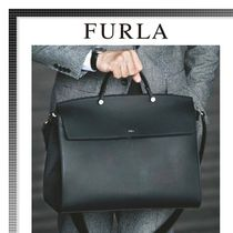 FURLA Calfskin A4 Plain Business & Briefcases