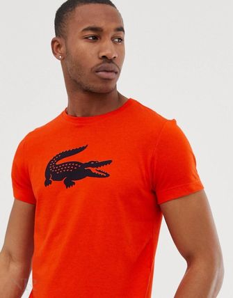 LACOSTE Crew Neck Crew Neck Pullovers Short Sleeves Crew Neck T-Shirts 19