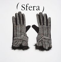 Sfera Glen Patterns Casual Style Gloves Gloves