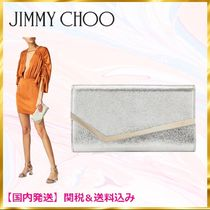 Jimmy Choo 2WAY Chain Plain Party Style Clutches