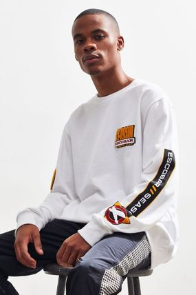 Crew Neck Collaboration Long Sleeves Cotton
