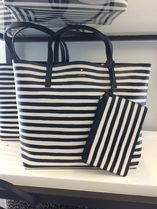 kate spade new york Stripes Leopard Patterns A4 Totes