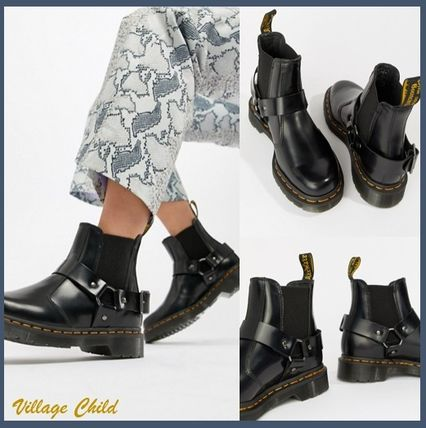 Dr Martens WINCOX 2018 19AW Round Toe Casual Style Blended