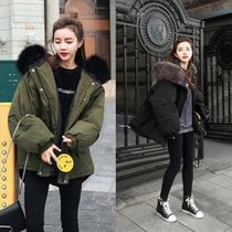 Casual Style Plain Medium Oversized Parkas