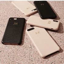 The Daily Edited Plain Leather Smart Phone Cases