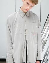 ANOTHERYOUTH Unisex Street Style Shirts & Blouses