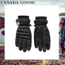 CANADA GOOSE Casual Style Plain Smartphone Use Gloves