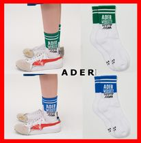 ADERERROR Unisex Street Style Socks & Tights