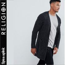 Religion Button-down Wool Street Style Long Sleeves Cardigans