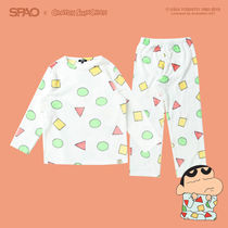 SPAO Unisex Collaboration Kids Girl Roomwear