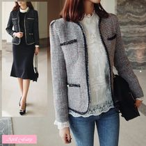 Tweed Office Style Jackets