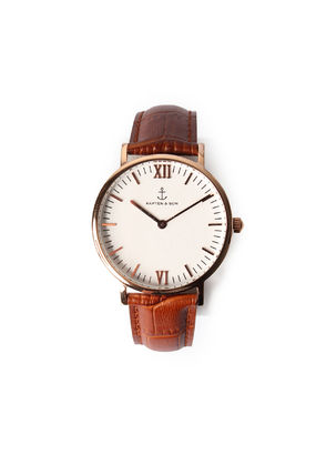 Casual Style Leather Quartz Watches Analog Watches