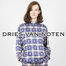 Dries Van Noten Other Check Patterns Casual Style Long Sleeves Medium